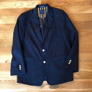 Nautica boy's navy blazer size 16